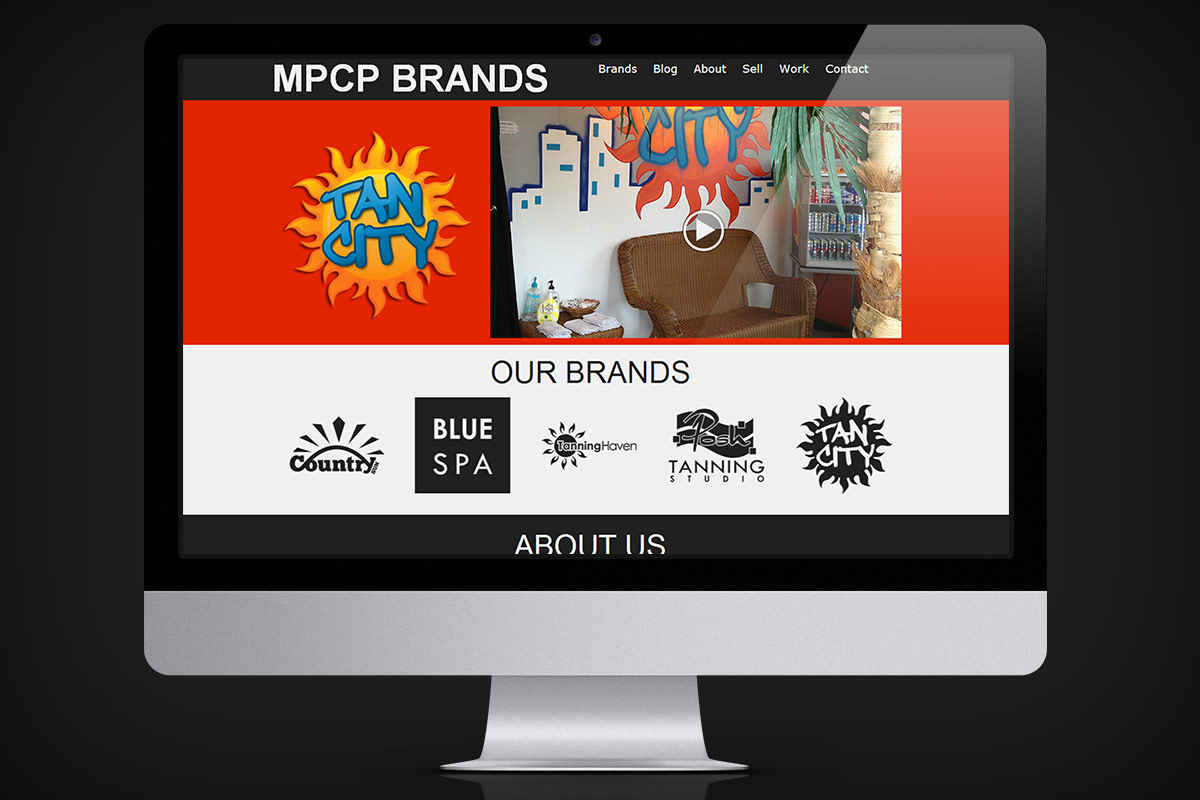 MPCP Brands new fluid website onscreen example